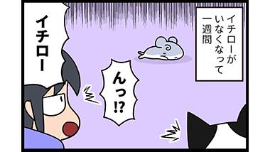 【猫マンガ-5話】イチロー生還