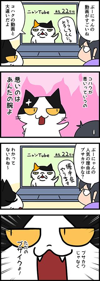 【猫マンガ-6話】ブサカワ