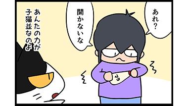 【猫マンガ-8話】おとなの力