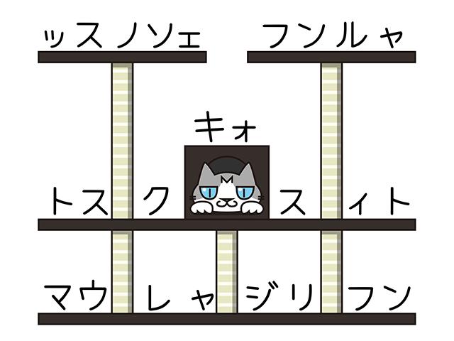 【猫クイズ-第9問】猫が3匹隠れています。何という種類の猫か?