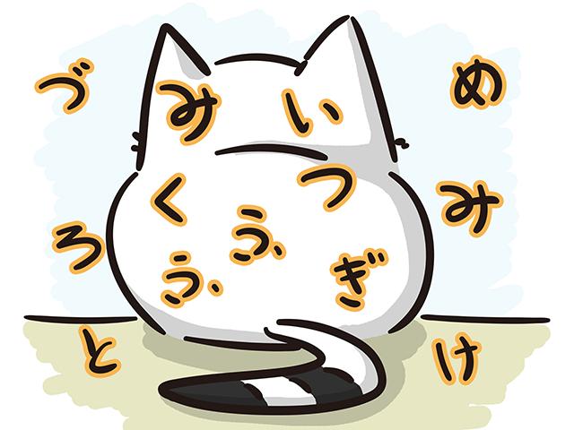 【猫クイズ-第19問】猫が行う3つの行動が隠れています。何という行動か?