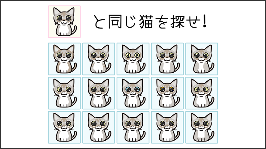 【猫クイズ-第39問】同じシンガプーラを探せ!